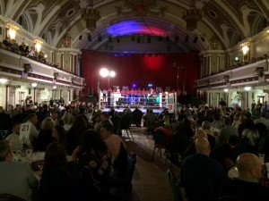 KINGS HALL - CHARITY BOXING MATCH CAUDWELL CHILDREN