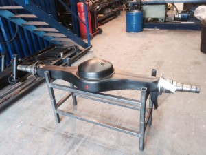 Rear Axle ready for the customer
