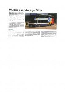 UK bus operators go Direct