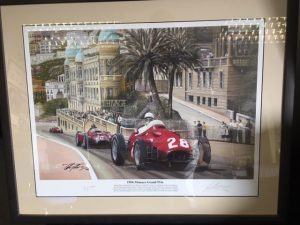Signed Picture of Sterling Moss - Harrys Trust